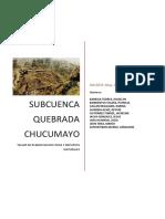 SUB CUENCA CHUCUMAYO