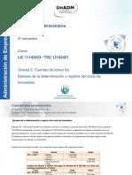 Ejemplo de La Determinacion y Registro Del Costo de Inmuebles