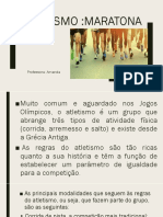 Atletismo Maratona 1º ANO