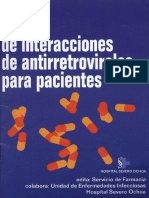 Interacciones de antiretrovirales