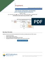 Calorimetric Test Strategy