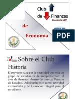 Presentación Power Point Club de Finanzas Economía-UCV