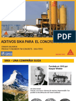 Aditivos Sika para el Concreto de hoy.pptx