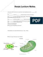 photosynthesis lecture notes pdf revised
