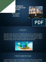 Proyecto Sobre Energias Renovables