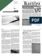 Kartilya 2nd Issue