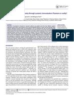 Mucosal Immunity Through Systemic Immunization