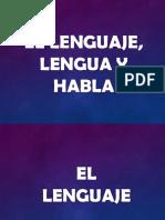 Lenguaje, Lengua y Habla.pptx
