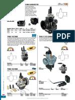 Lista básica carburador dellotor