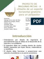 332839226 Proyecto N 1 Soporte Horizontal Giratorio Para Polipasto