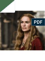 Impressão - Cersei Lannister