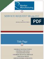 Service Request Sr Rm 012