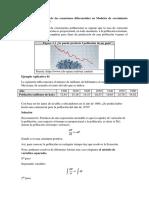 Aplicación de Las Ecuaciones Deferenciales en Modelos de Crecimiento Poblacional