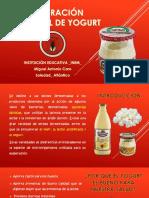 Elaboración Artesanal de Yogurt