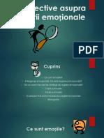 Perspective Asupra Reglării Emoționale