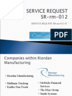 Rm Service Request Sr-rm-012 #2
