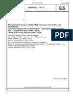 DIN EN ISO 17641-1-2004
