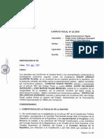 Denuncia Constitucional Zoraida Ávalos