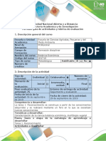 Guía de Actividades y Rubrica de Evaluación Tarea 1 - Reconocimiento