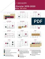 Calendarioescolar. SEP 2019-2020 - Copia