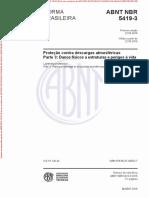 NBR5419-3 - Danos Físicos a Estrutura e Perigos à Vida