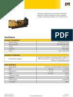 CAT32 1.25MVA Technical Data Sheet 12 leads out 240V