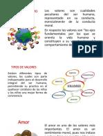 Diapositiva de Los Valores Como Eje Central