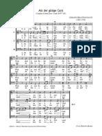 Bach - Als der gütige Gott BWV 264 - Coral