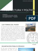 resumen de arquitectura y politica