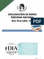 Presentación Curso de Renta Persona Natural Sesión 1 2019 (1)