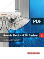 Remote Electric Tilt System 99812595