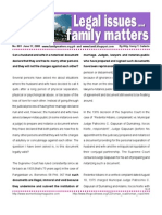Legal Issues and Family Matters Number 001 June 17 2008