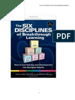 la seis disciplinas del aprendizaje disrruptivo