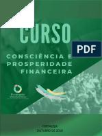 Consciência e prosperidade financeira