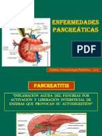 ENFERMEDADES PANCREÁTICAS  2019