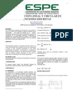 Convolucion Lineal y Circular Klever Alvarez