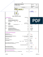 RC pilecap design(beam method).xls
