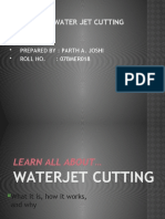 Water Jet Cutter Ppt