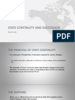State Continuity and Succession