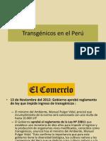 Trangénicos en el Perú.pptx
