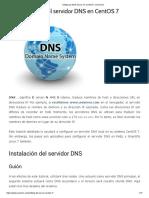 Setting Up DNS Server On CentOS 7 _ Unixmen.pdf
