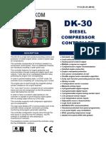 Datakom DKG30 manual
