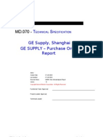 MD070 Purchase Order - Supplier Report