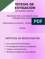 HIPOTESIS INVESTIGACION.pptx