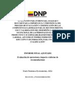 Informe Final Eval Certificacion Competencias Laborales - Copiar - Copiar