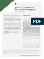 Aerothermodynamic Optimization of Aerosp