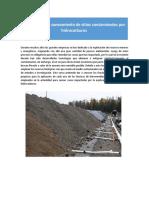 Sitios contaminados por hidrocarburos