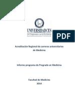Informe de Autoevaluacion MERCOSUR Medicina Definitivo