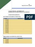CALCULO DE LAS PROVISIONES CONTABLES Y FISCALES