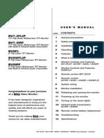 Boss Audio Bv7 3flip Manual de Usuario